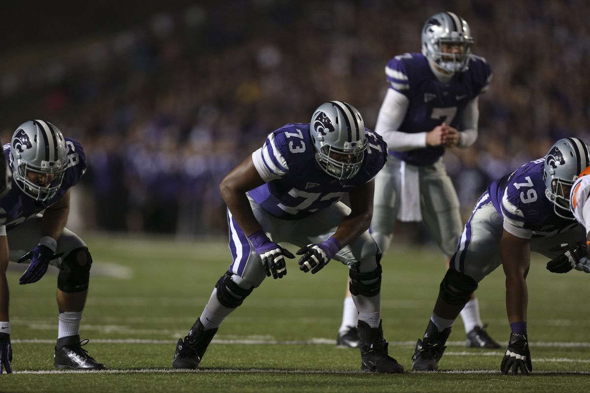 Tavon Rooks was an extremely sound tackle for Kansas State. I think, in a couple of years, Alec Ruth could provide the same service for the Wildcats.