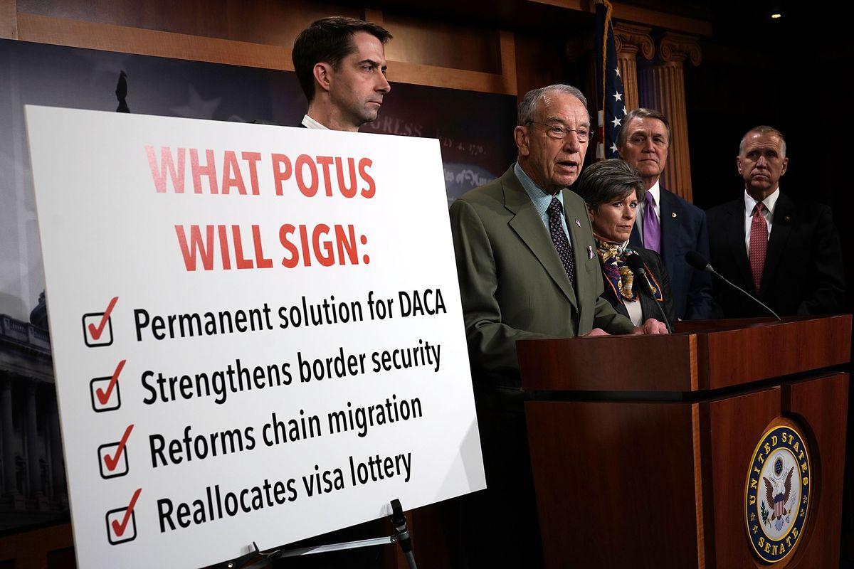 US Senate showdown over 'Dreamer' immigrants