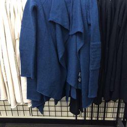 Alpaca-blend cardigan, size M, $120 (was $325)