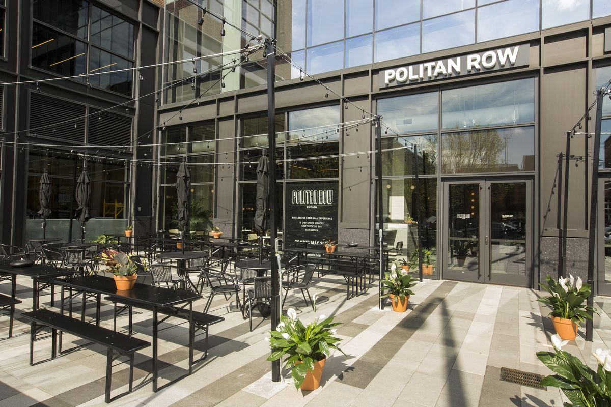Tour Politan Row Chicago S Newest Food Hall Now Open In