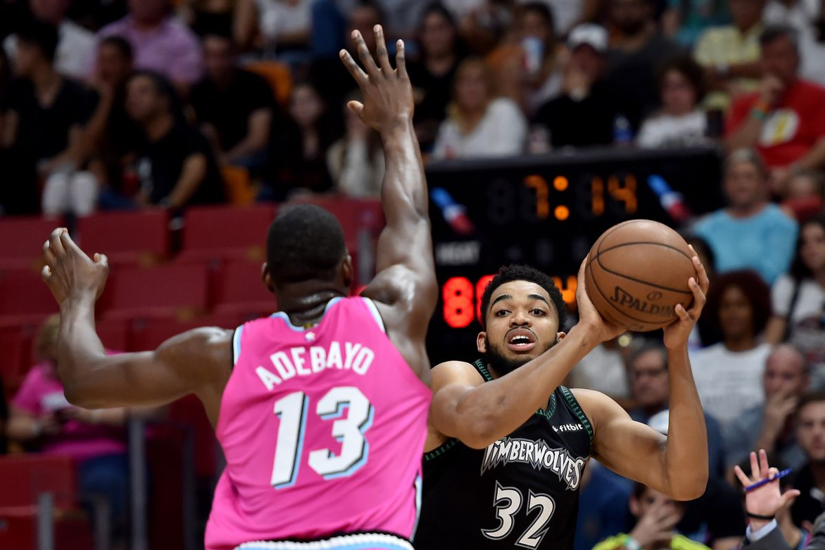 b20f008c1b GAME PREVIEW  Miami Heat visit the Minnesota Timberwolves in must-win game