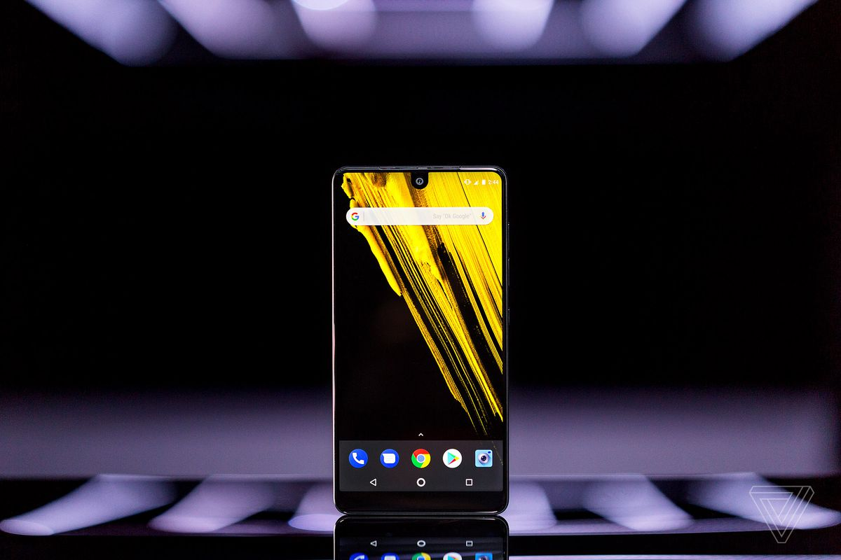 Essential Phone OS and accessory details revealed
