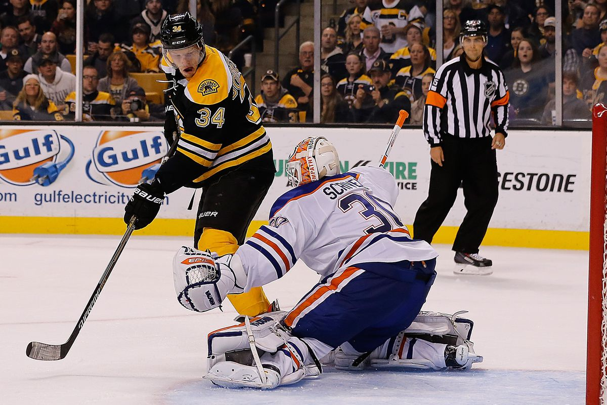 Hurry up, Carl Soderberg, he's reaching for his whistle!