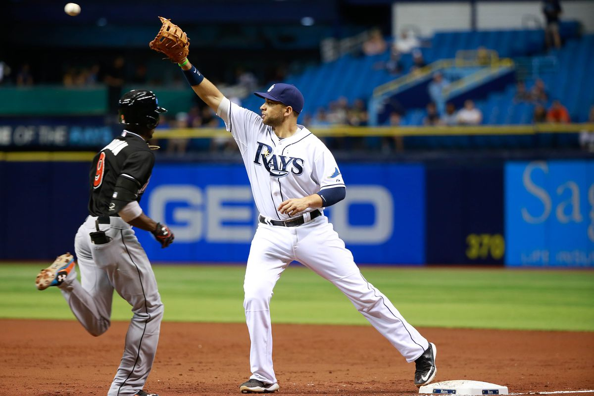 Is it a stretch to think the A's and Rays could get together on a deal?