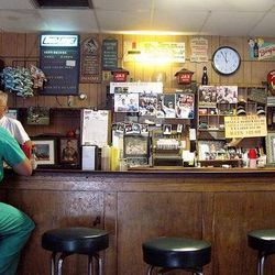 """No frills. Wood paneling. Always packed. Domilise's Po Boys via <a href=""""http://www.flickr.com/photos/sanfranannie/2883748987/sizes/m/in/photostream/"""">flickr/SanFranAnnie</a>."""