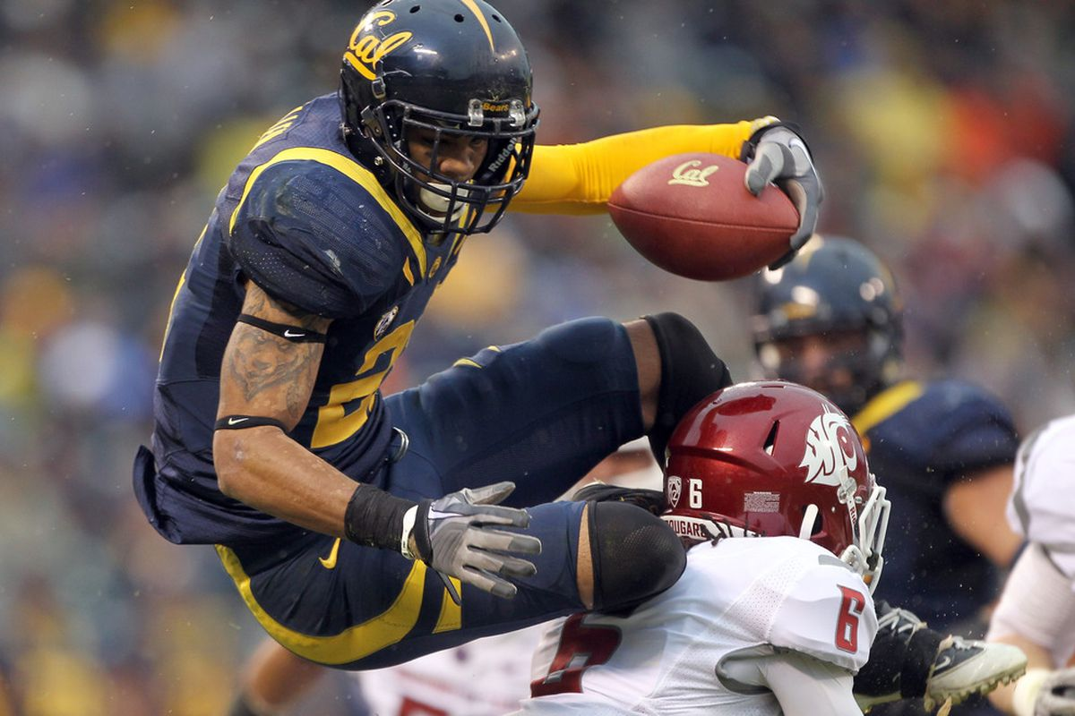 Cal's Keenan Allen is leaps and bounds above most of the 2013 wide receiver class.