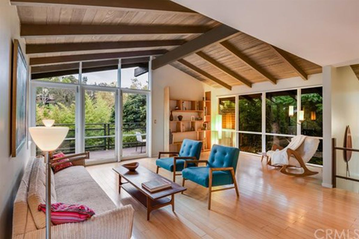 Mid Century Post And Beam Among The Trees In Pasadena Asking 959k Curbed La