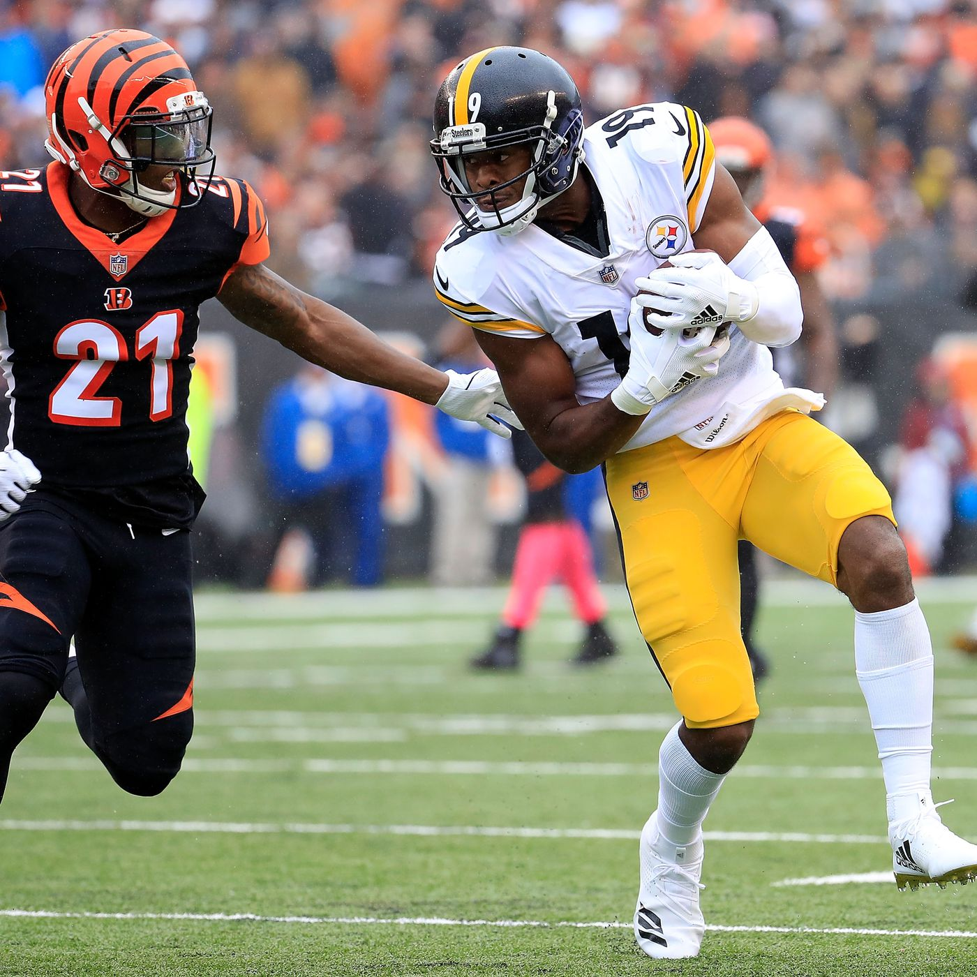 size 40 1b661 3f4f0 Bengals CB Darqueze Dennard ruled out vs. Steelers, Vontaze ...
