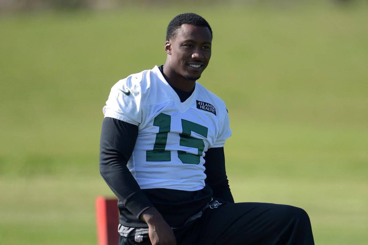 best authentic 66295 75990 Gay teen applauds Jets' Brandon Marshall for work on mental ...