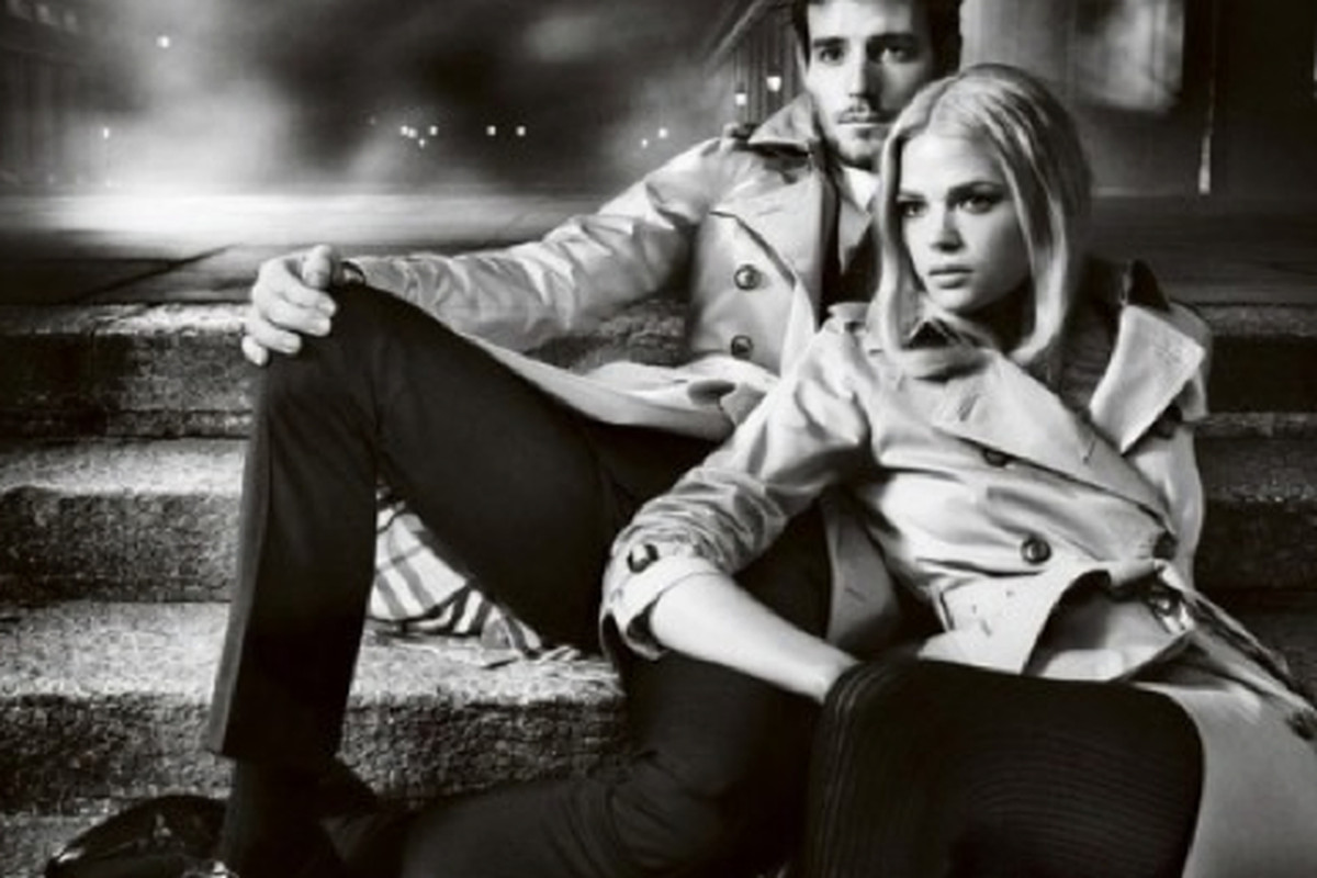 """The up-and-coming duo, via <a href=""""http://fashion.telegraph.co.uk/news-features/TMG9296824/Gabriella-Wilde-and-Roo-Panes-Burberrys-new-campaign-couple.html"""">Telegraph</a>"""