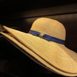 Audrey straw floppy hat, $66