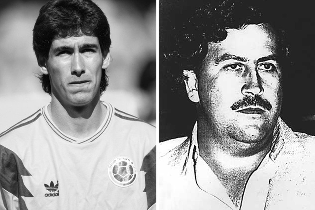Andres Escobar And Pablo Escobar