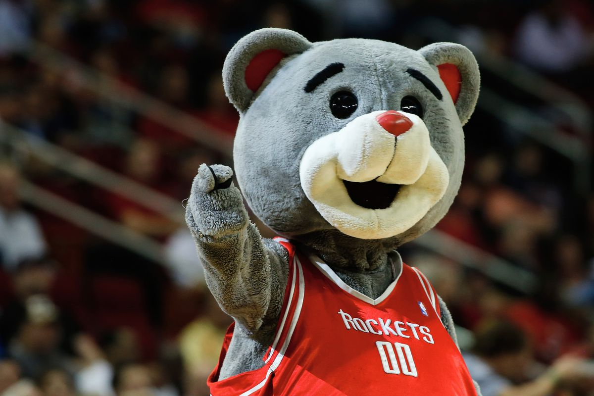 The only member of the Rockets team pulling his weight.