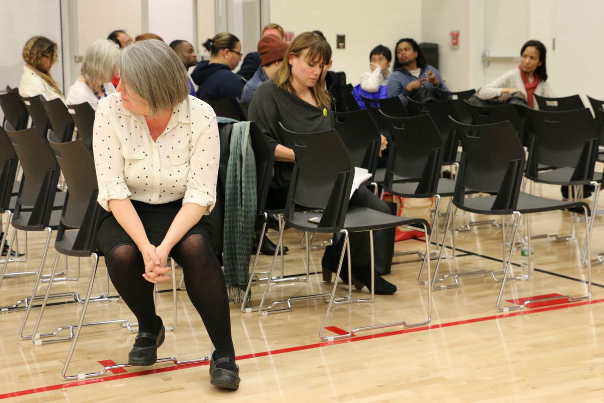 District 2 held a forum Monday about school segregation and the impact sorting students into different programs or schools based on their academic records.