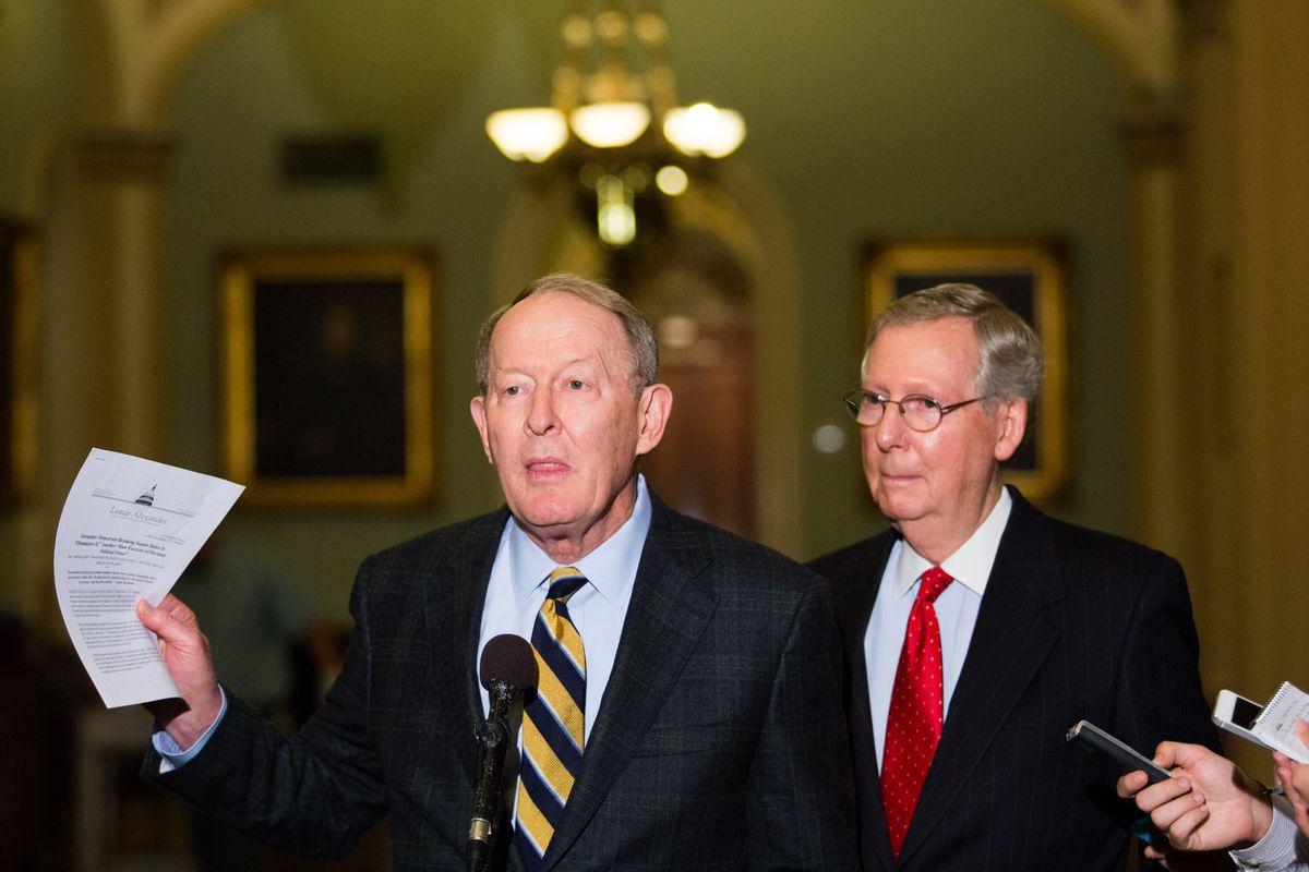 Senate Democrats Pass 'Nuclear Option' On Filibuster Rules