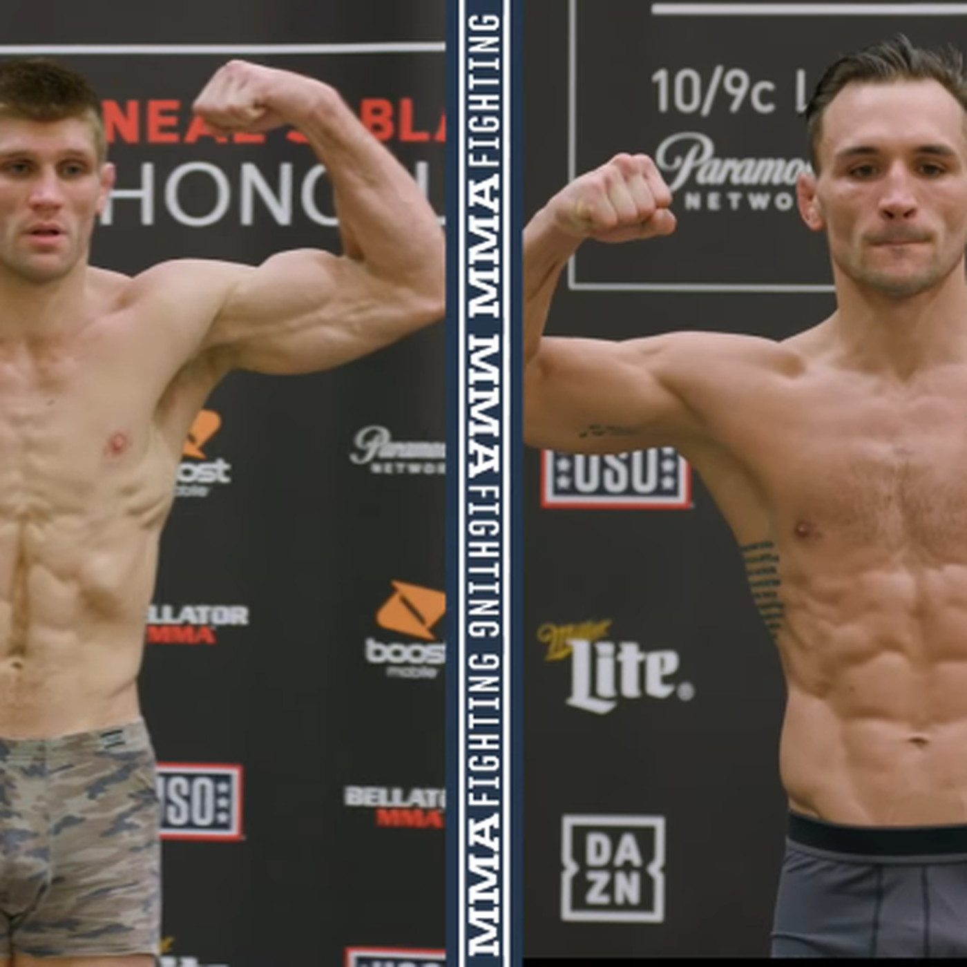 9c857365f2 Bellator 212 weigh-in results and video  Primus 154.9