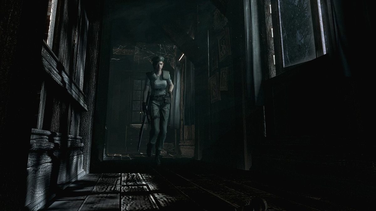 Jill Valentine from the Resident Evil remake
