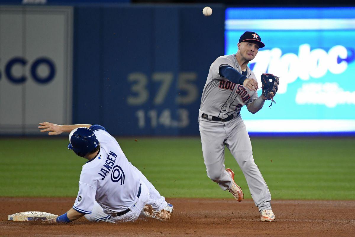 MLB: SEP 25 Astros at Blue Jays