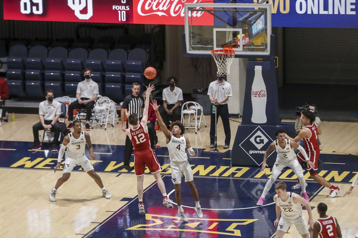 NCAA Basketball: Oklahoma at West Virginia