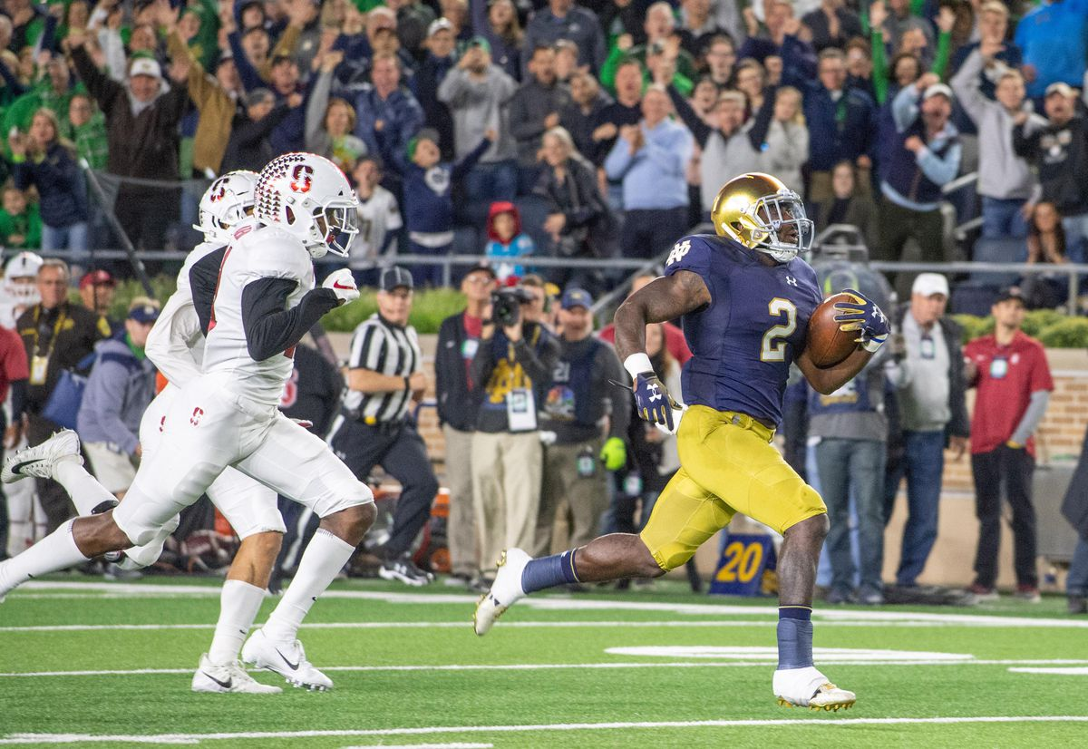 NCAA Football: Stanford at Notre Dame