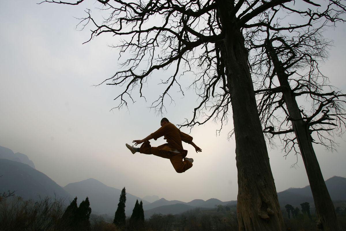 Warrior Monks Of Shaolin Temple