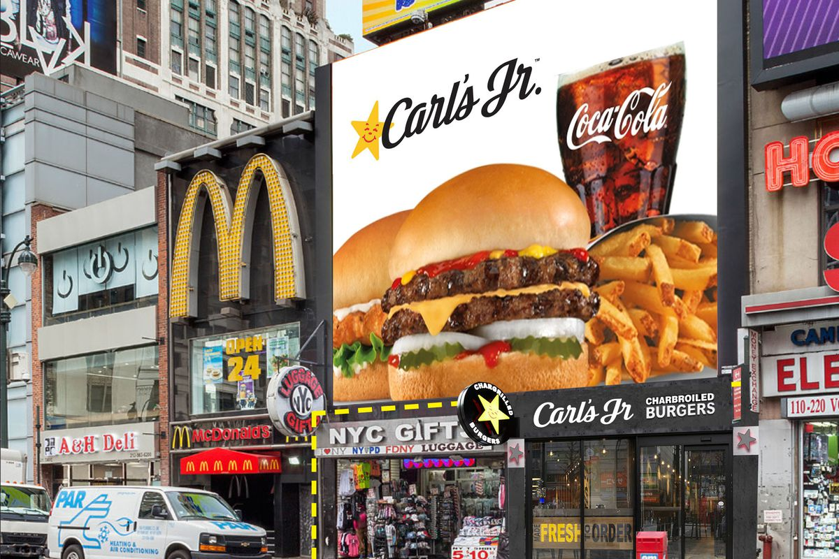 carl s jr plans to open two story manhattan restaurant next year