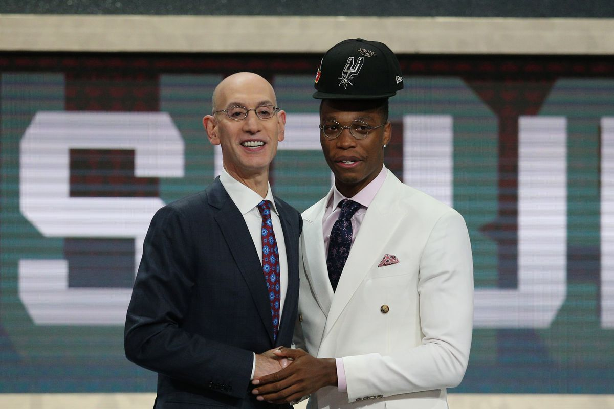 87ec0a802 The Spurs got their guy in Lonnie Walker IV - Pounding The Rock