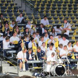 GT Band Pre-Game