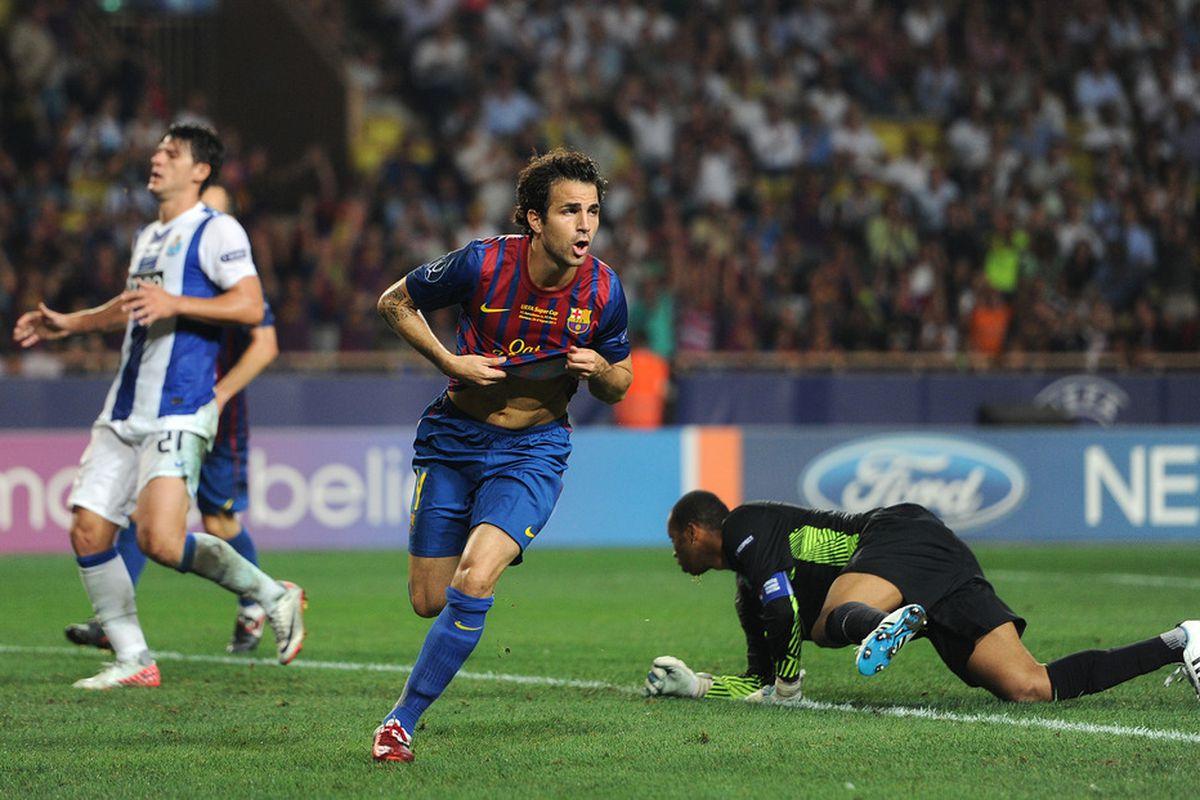 Cesc is enjoying the best goalscoring start in his career