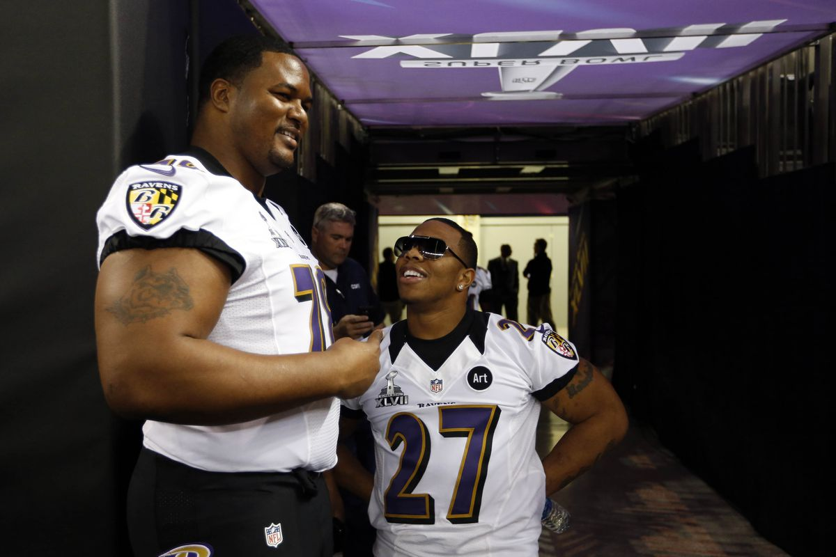 BaltimoreRavens.com's Ryan Mink writes about the unique friendship Bryant McKinnie and Ray Rice share.