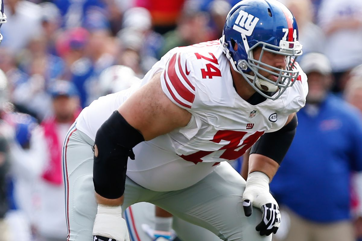 Geoff Schwartz Giants OG not sure about playing next to his