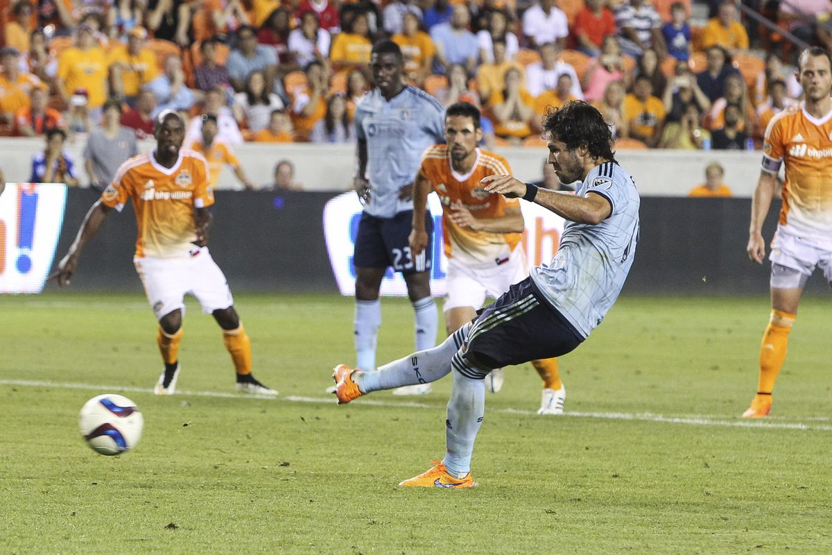 Feilhaber slots home the PK on Saturday. Did PV reward Benny, or lose confidence in Dom?