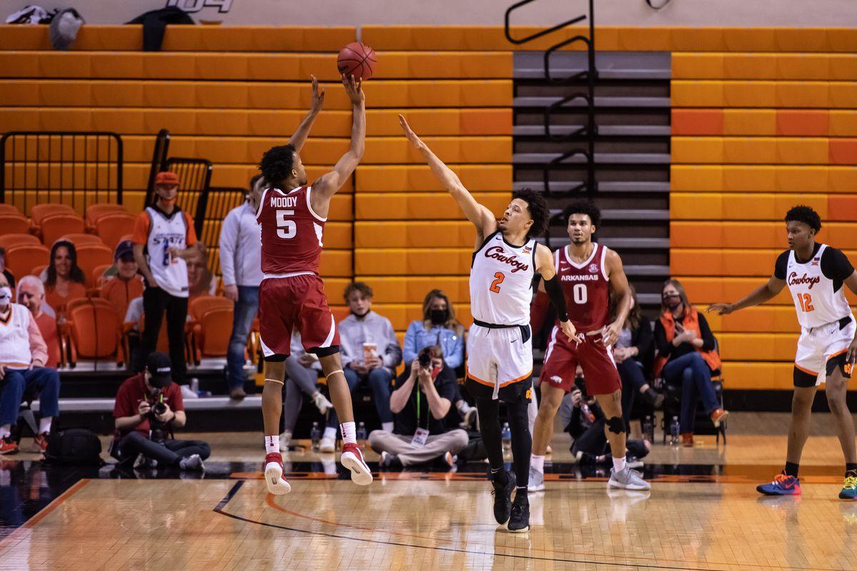 NCAA Basketball: Arkansas at Oklahoma State