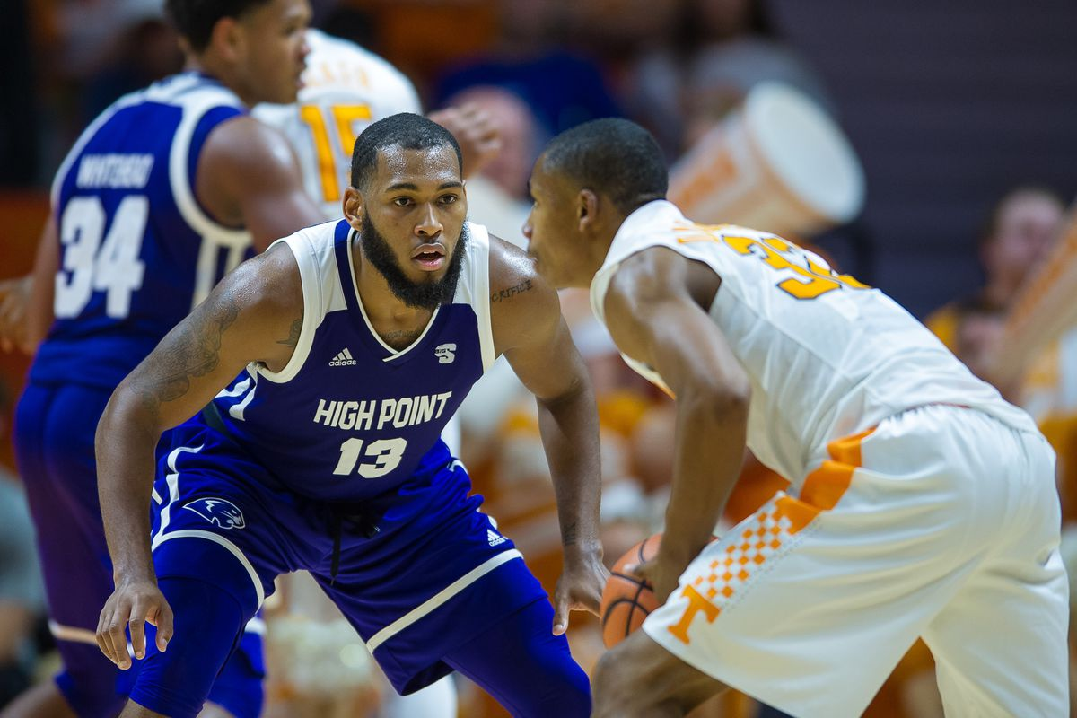 COLLEGE BASKETBALL: NOV 14 High Point at Tennessee