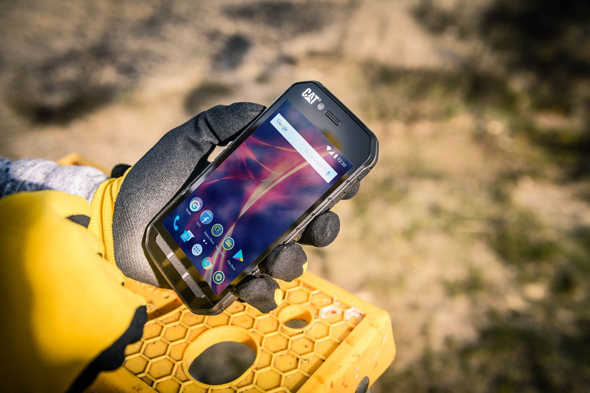 CAT's latest rugged smartphones won't break your budget - The Verge