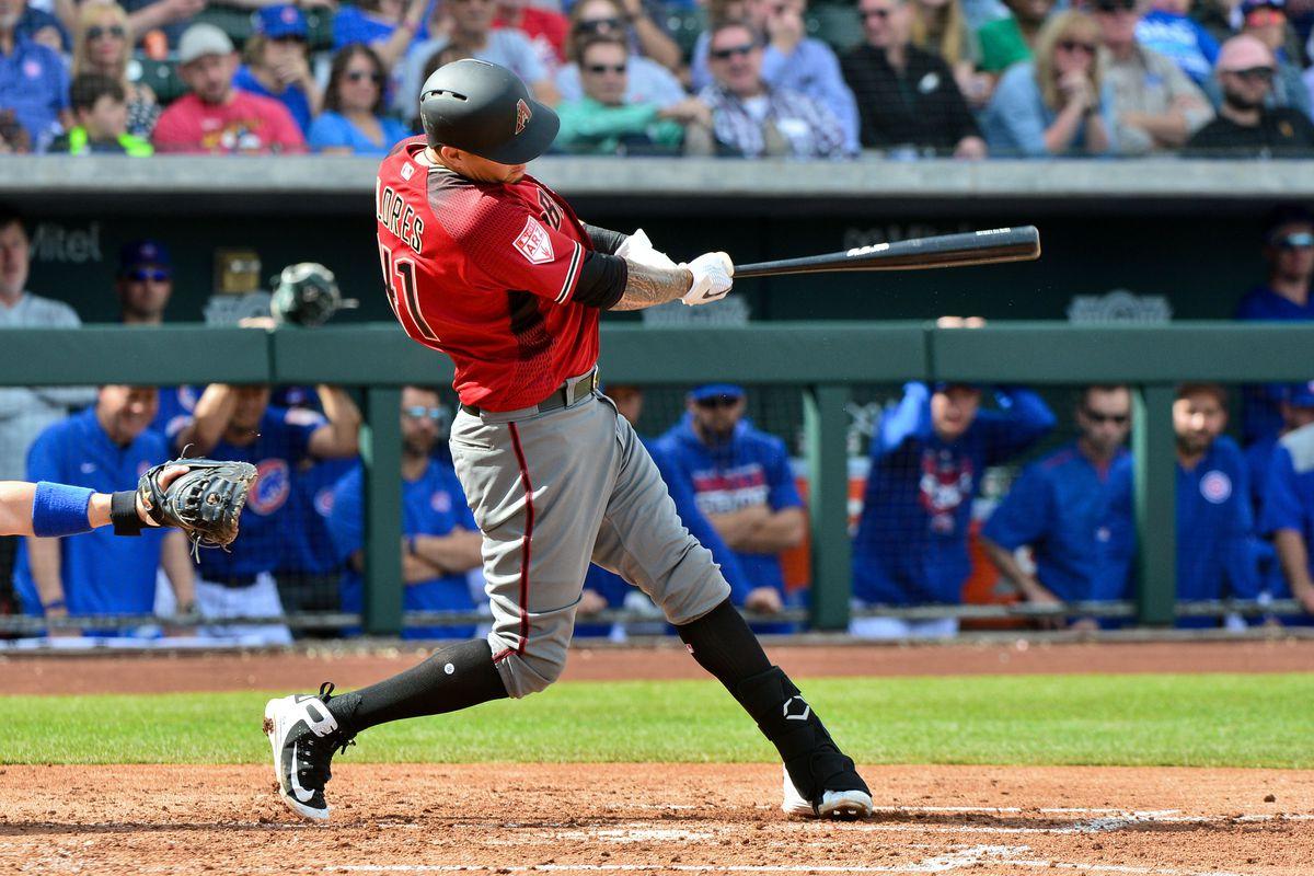 MLB: Spring Training-Arizona Diamondbacks at Chicago Cubs