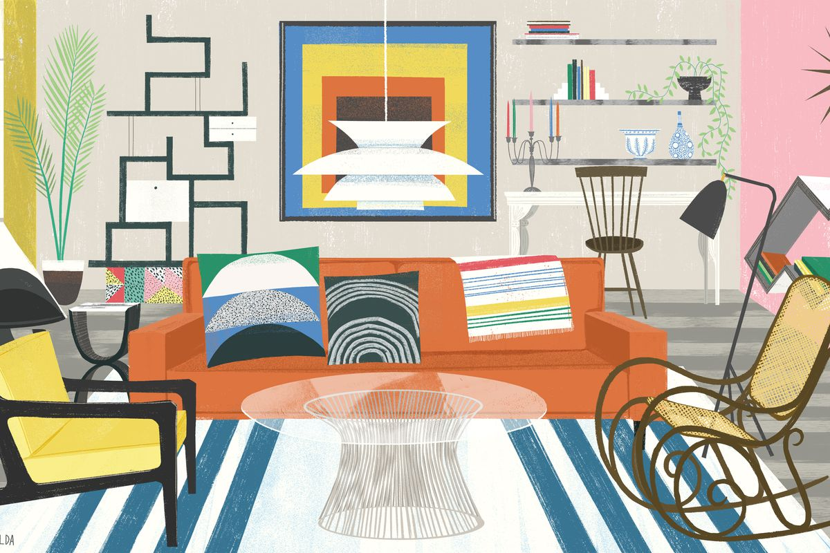 Illustration by Sam Kalda   Furniture Week. 10 fun Amazon buys for the home   Curbed