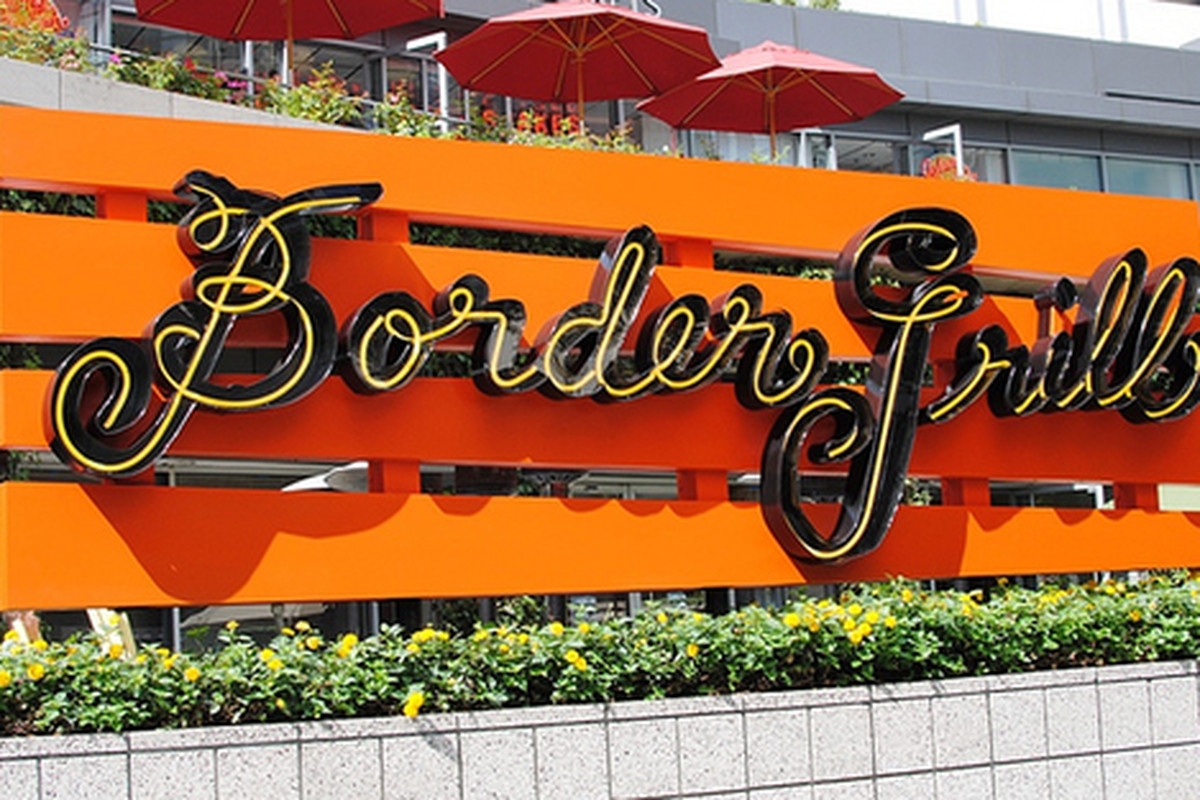 Fresh new signage for Border Grill, Downtown.