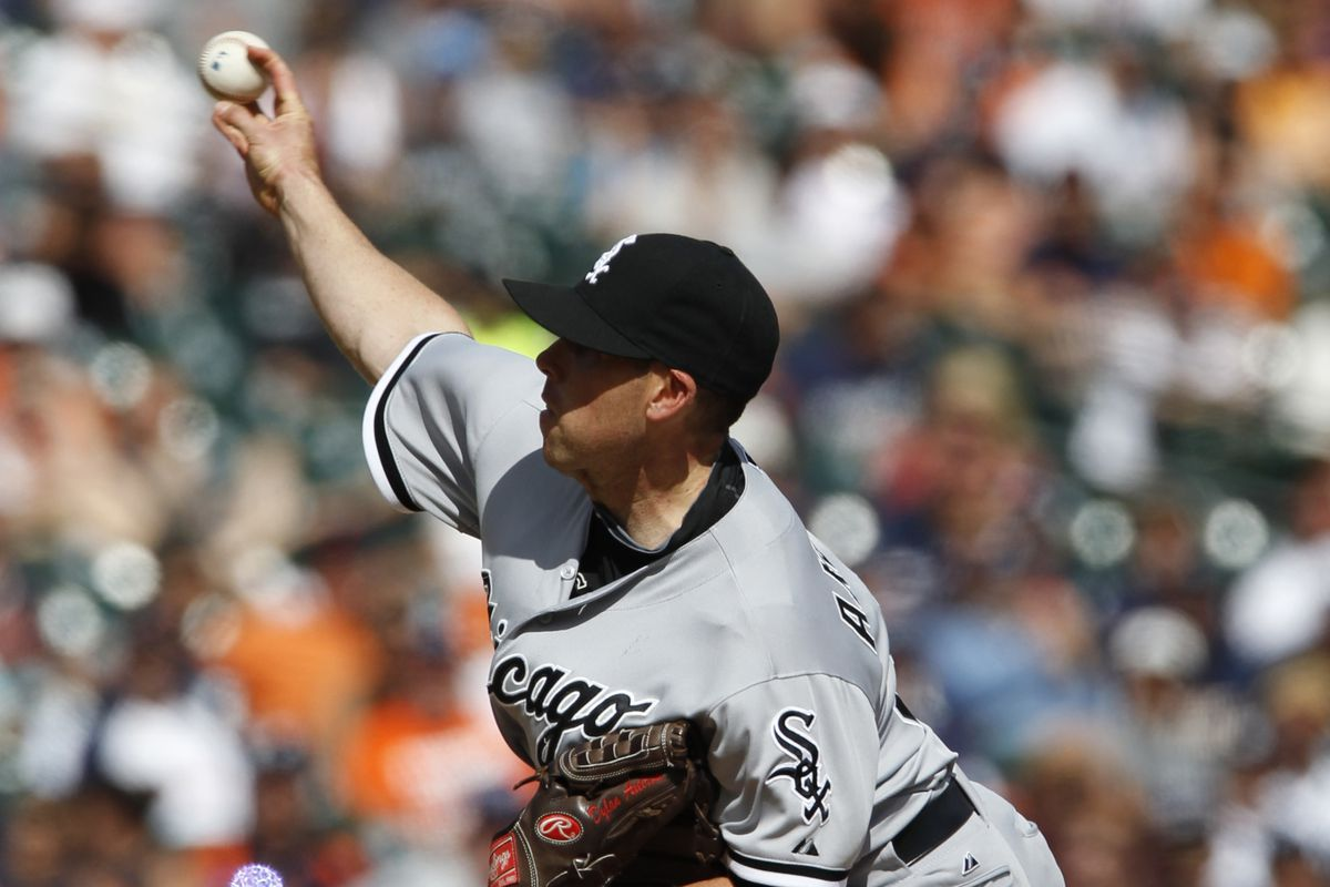 Axelrod pitching in the Sunday's extra-inning loss