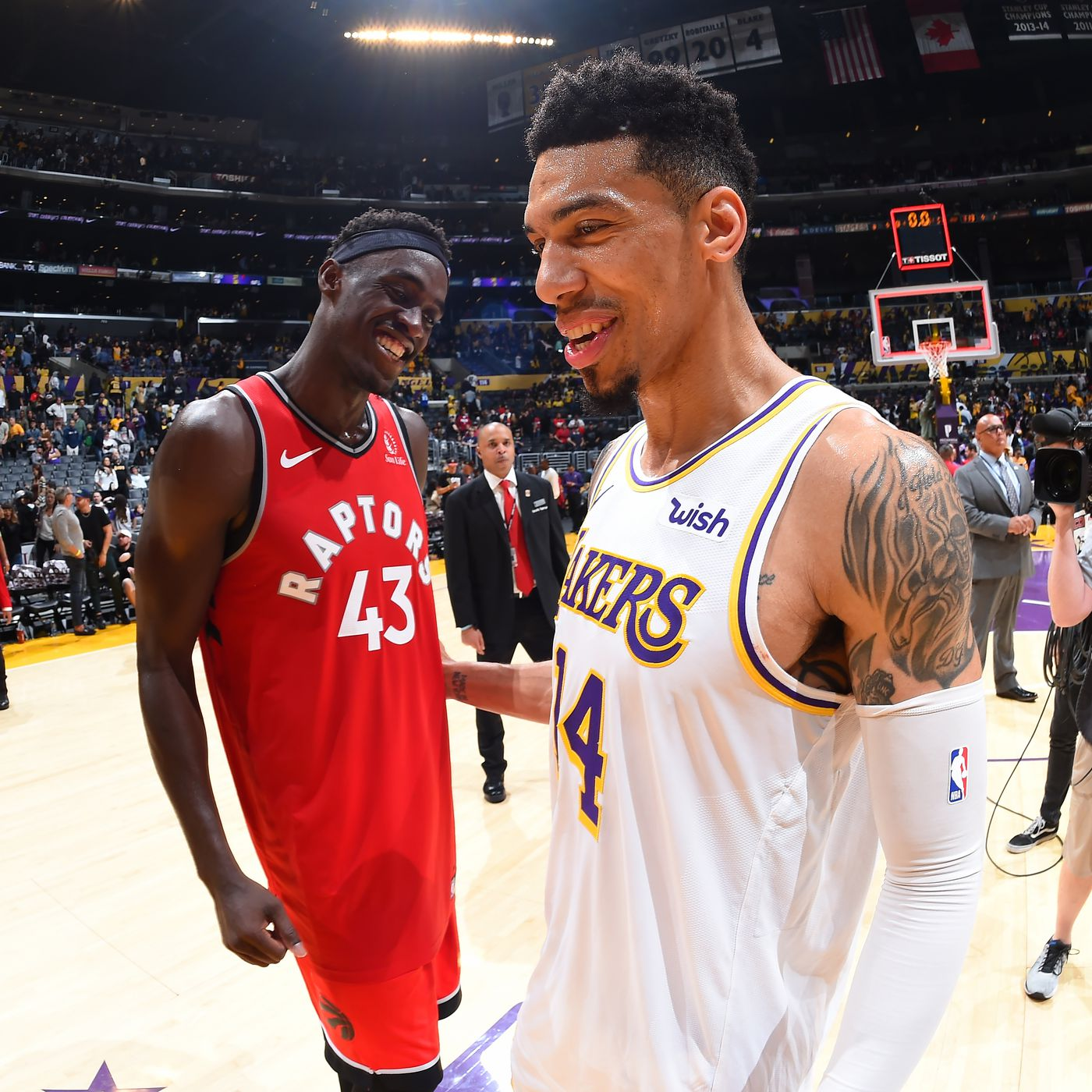 Lakers News Danny Green Plans To Receive Nba Championship Ring In Toronto Silver Screen And Roll