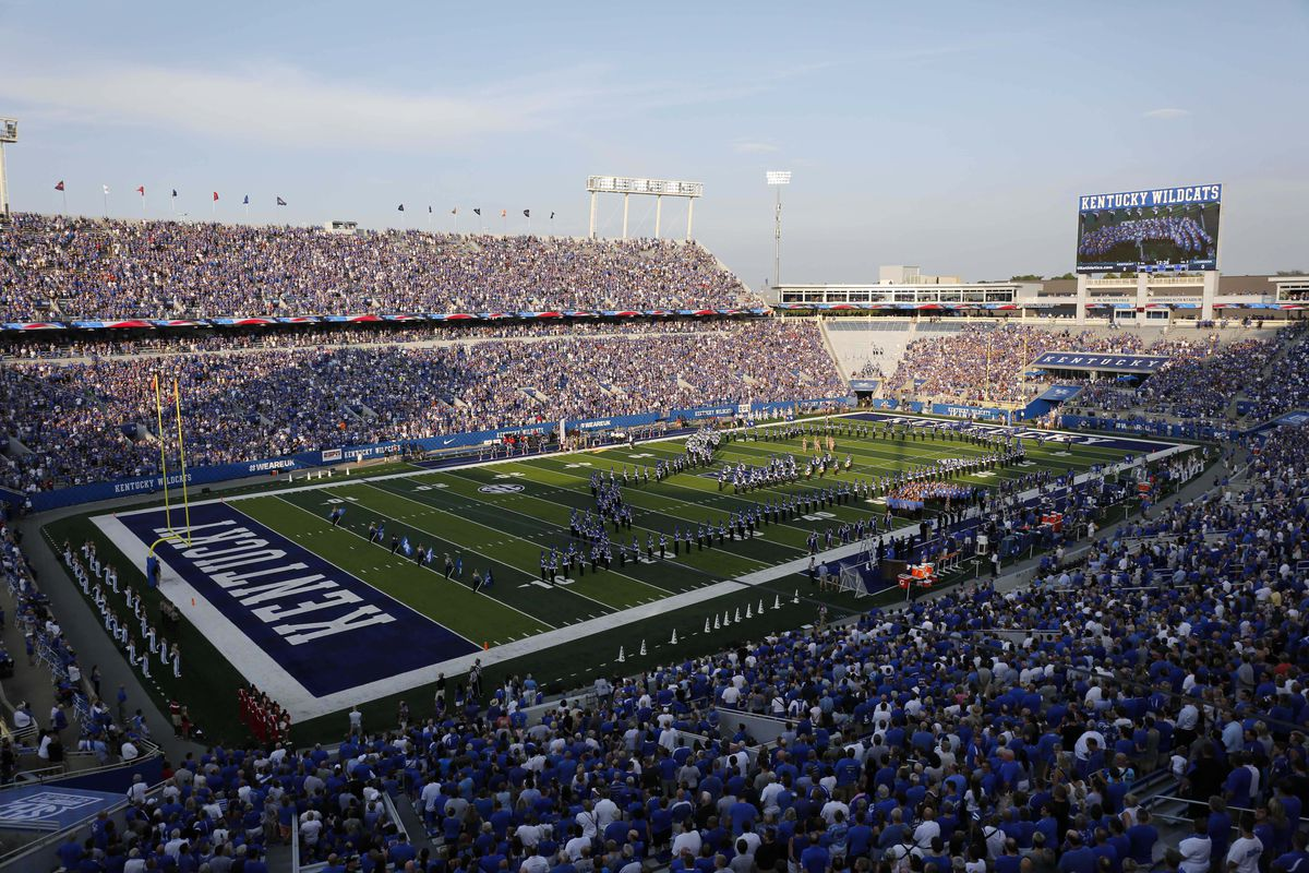 Yep, Kentucky's stadium is named after grocery store ...