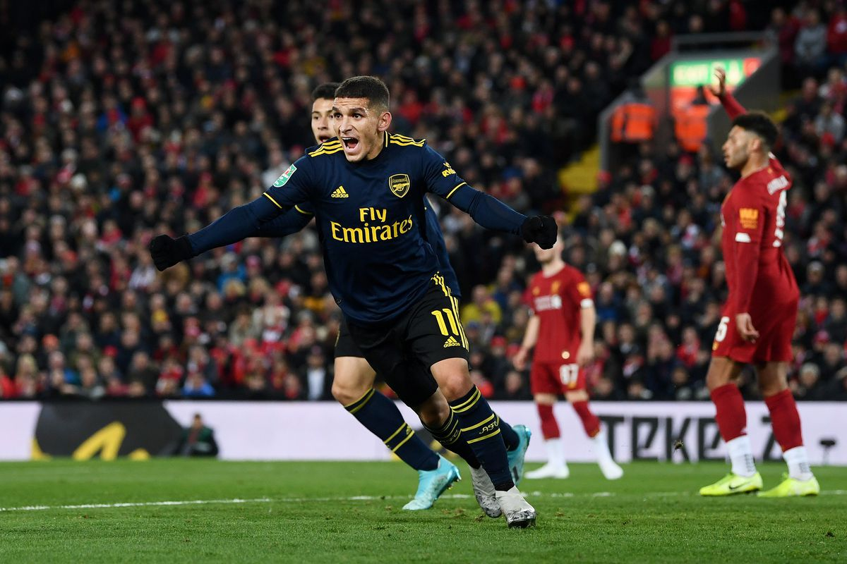 Liverpool FC v Arsenal FC - Carabao Cup Round of 16