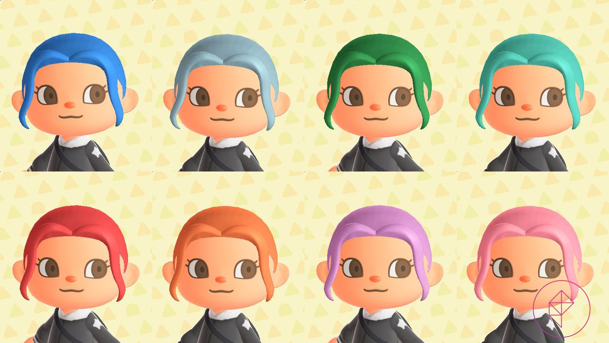 Top 8 Stylish Hair Colours Animal Crossing - Hair Trends ...