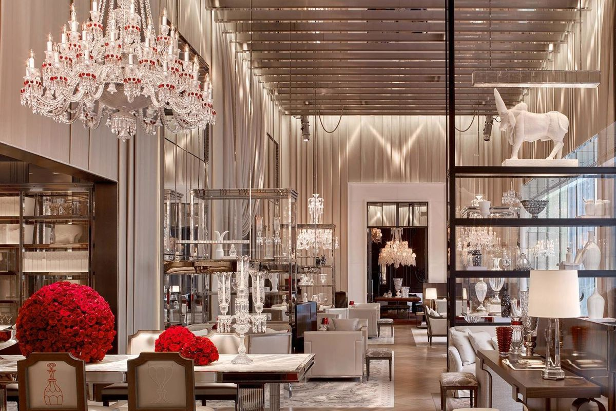 Nycs baccarat hotel will soon offer a crystal menu curbed baccarat hotel photos via baccarat hotel aloadofball Images
