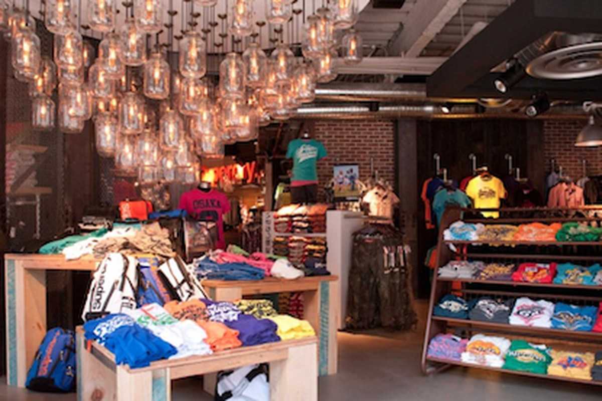 Inside the reopened Superdry