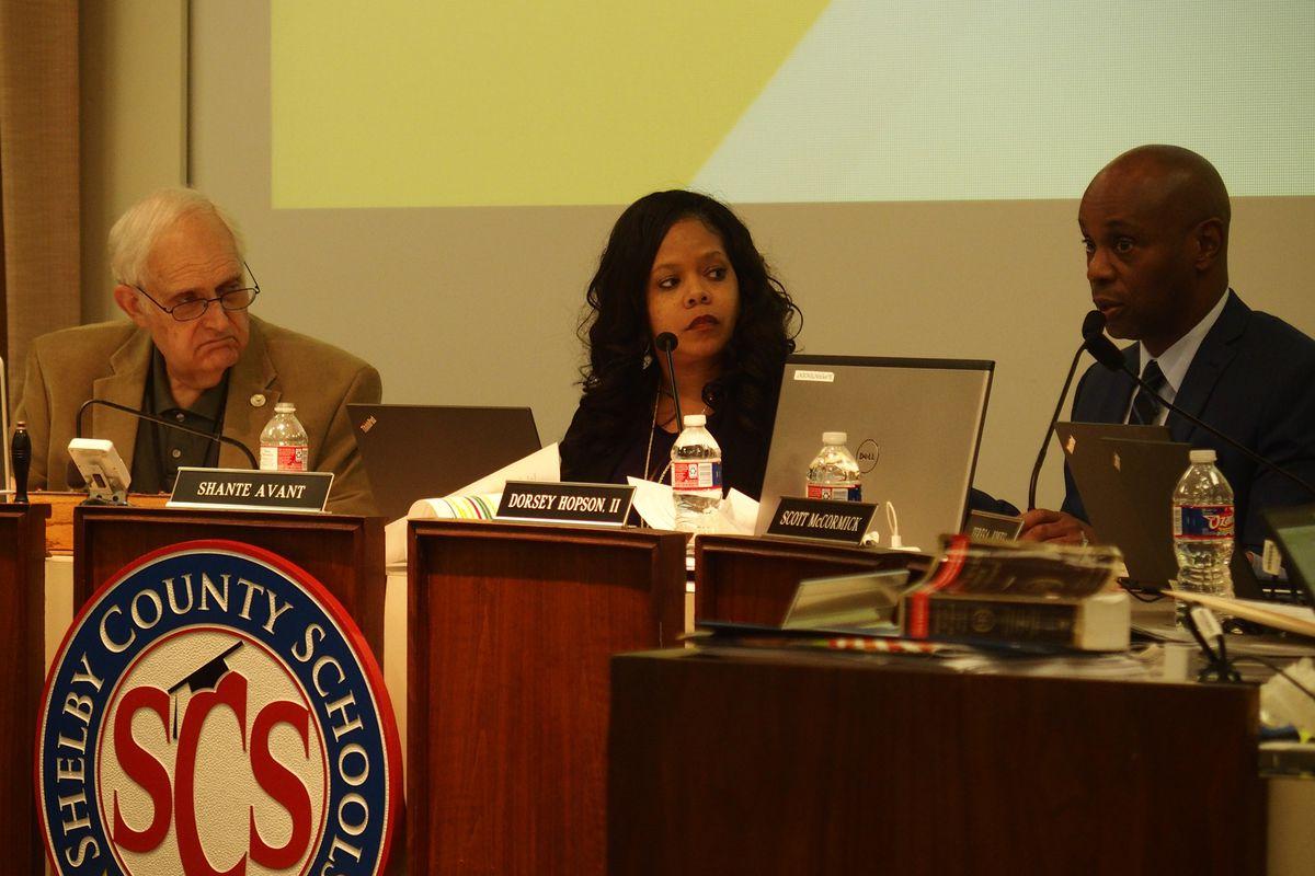 Shelby County Schools board chairwoman Shante Avant.