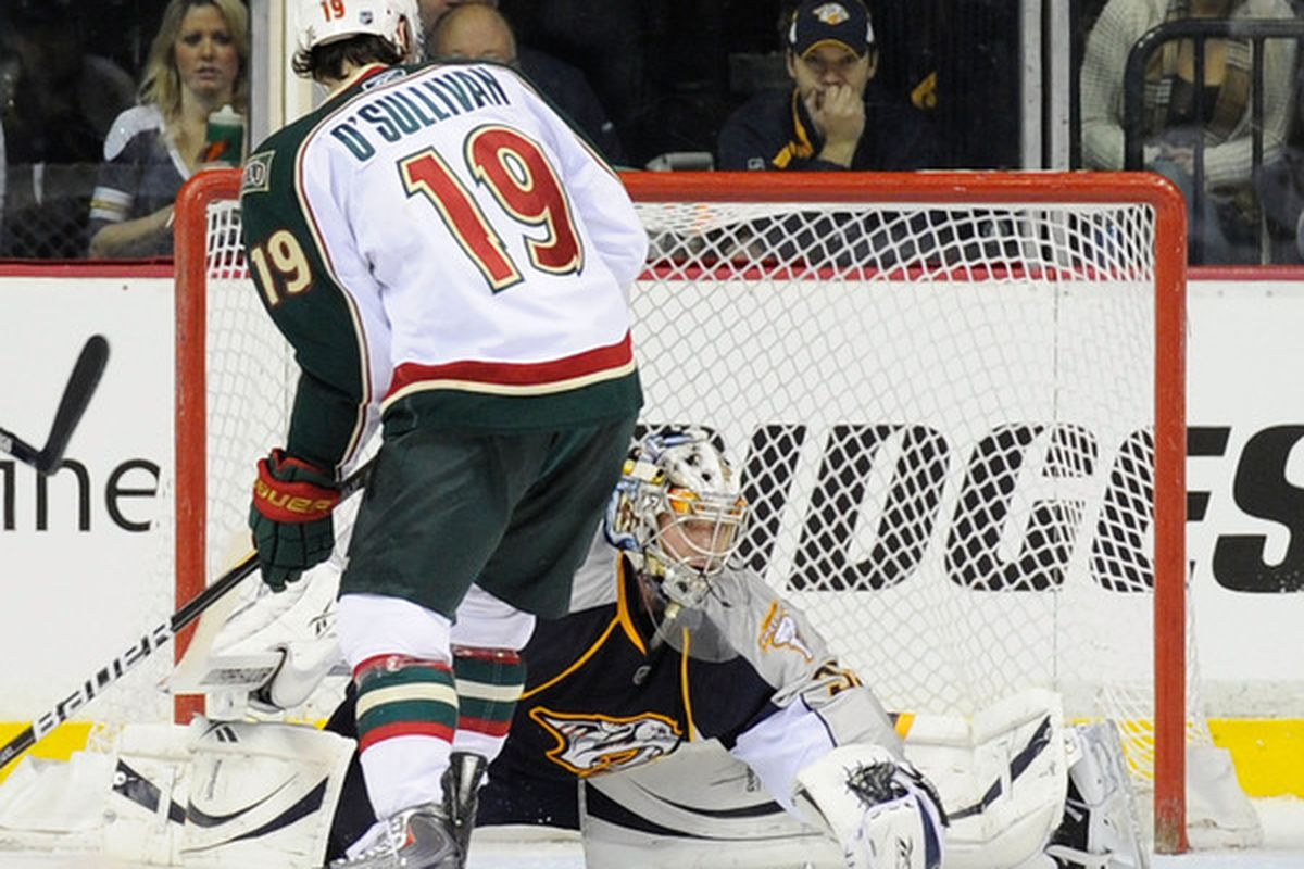 Yes, Sully, that's a goalie. You may want to move around a bit.