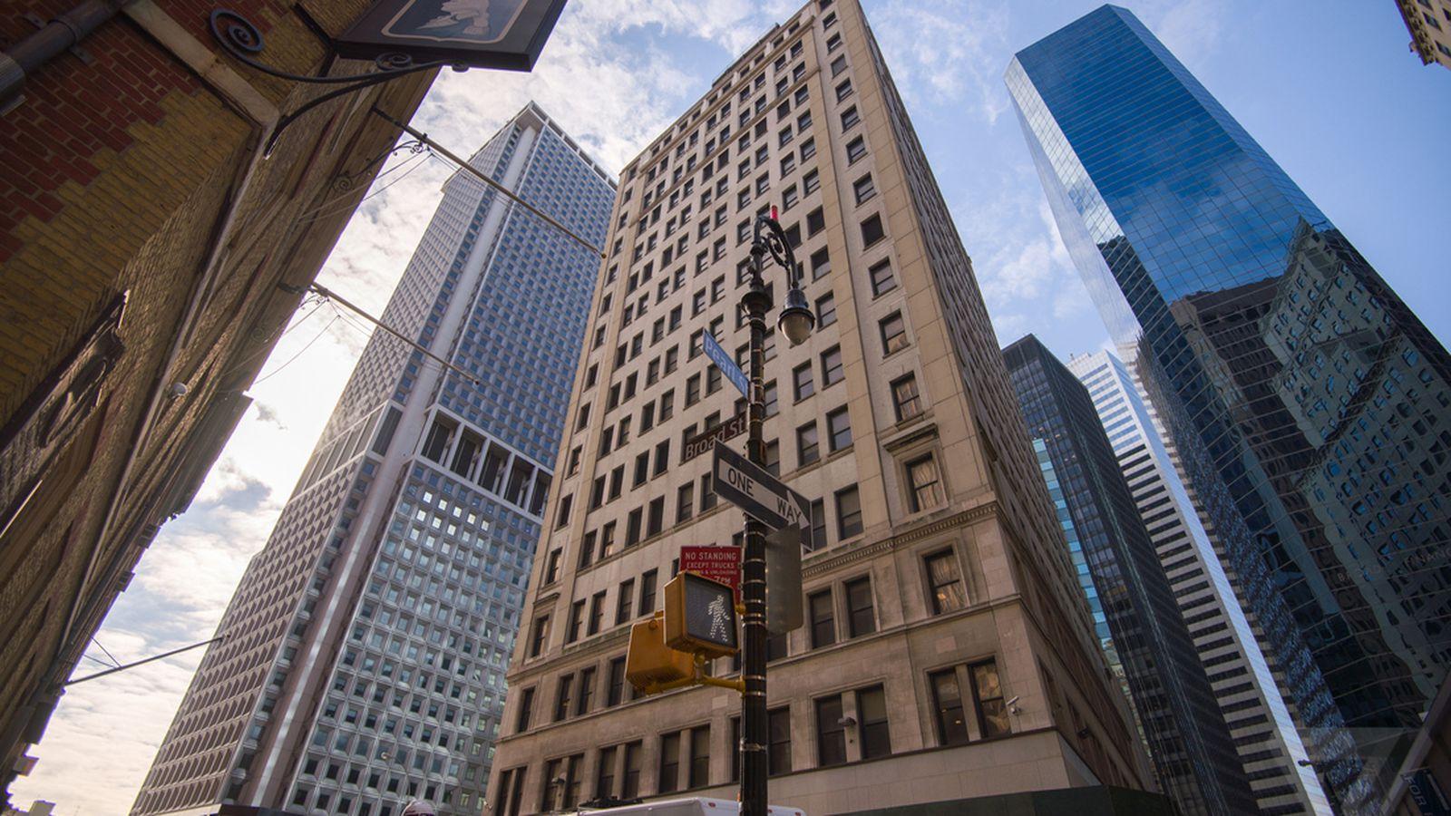 Verizon S Broad Street Central Office In Lower Manhattan