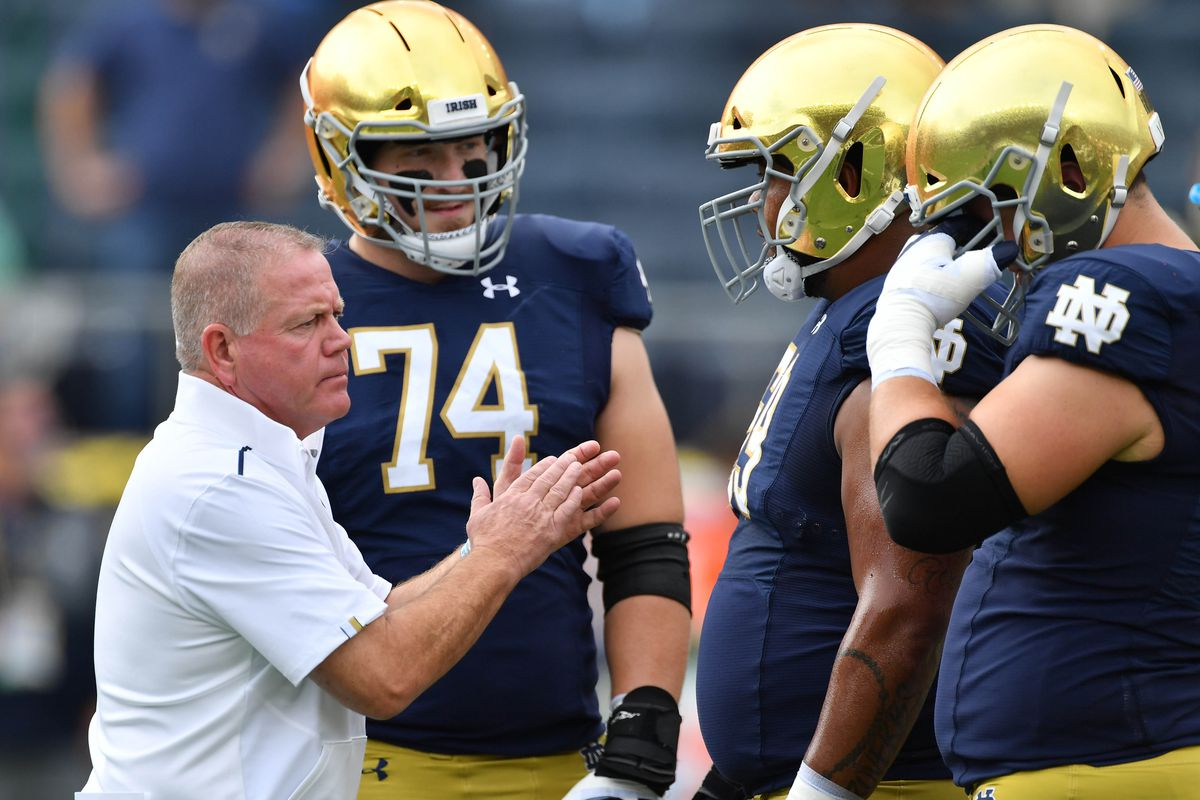 Notre Dame Midterms - The Offense gets its grades