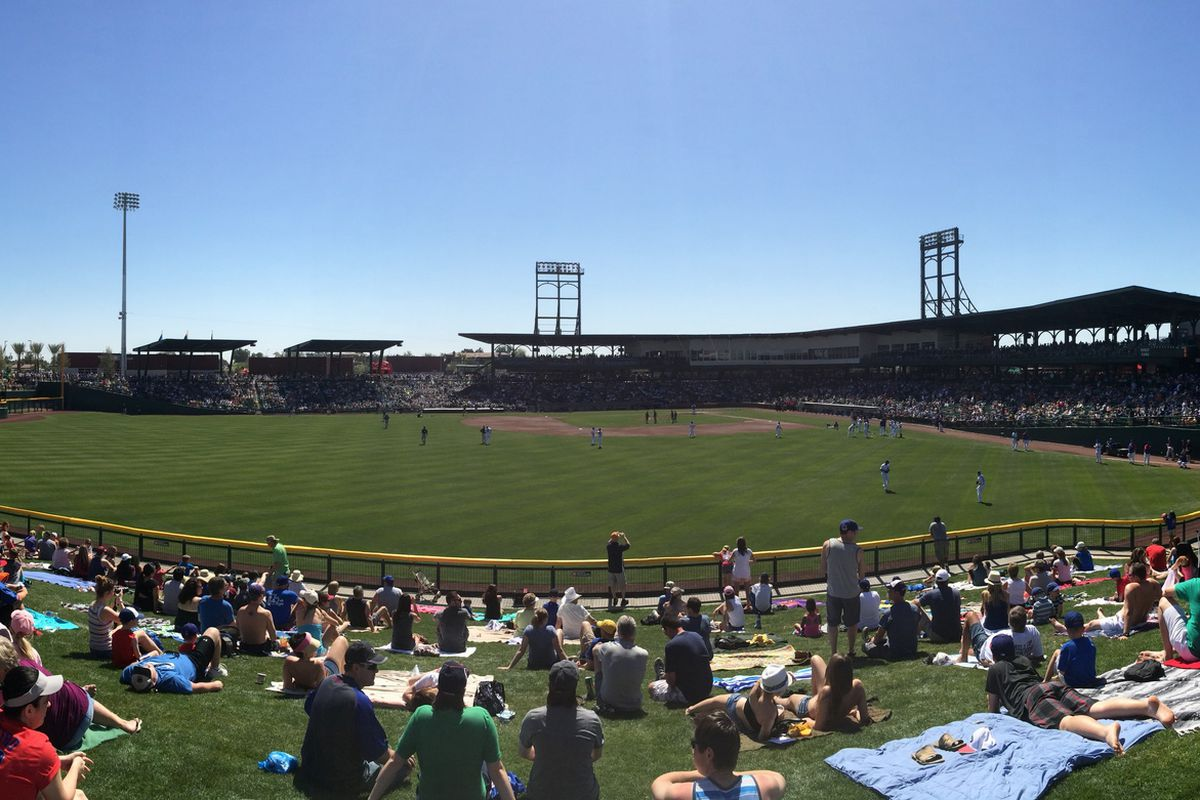 Spring Training at Cubs Park